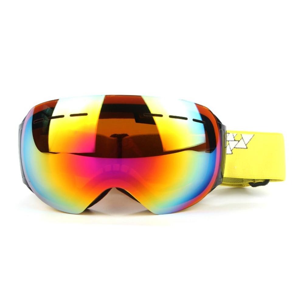 Ski goggles double layers UV400 anti-fog big ski mask glasses skiing men women snow snowboard goggles safety goggles