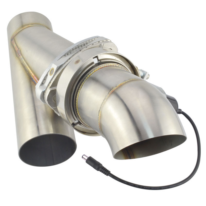 stainless steel 3 inch exhaust cut out