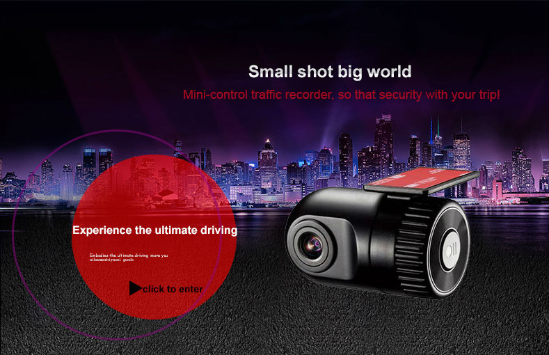 Original Podofo  Mini Car DVR Camera Dashcam Full HD 1080P Video Registrator Recorder G-sensor Night Vision Dash Cam Blackbox9