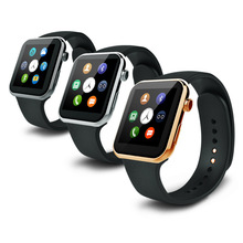A9 Smartwatch Armbanduhr Bluetooth Smart Uhr für Apple iPhone Samsung Huawei HTC Android Smartphone Uhr
