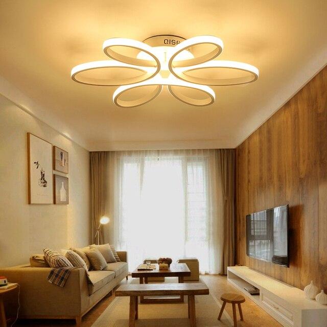 Deckenleuchten FÜHRTE Moderne Schlafzimmer Beleuchtung Acryl Lampenschirm Wohnzimmer  Deckenleuchte Luces Del Techo Armaturen Leuchte Licht