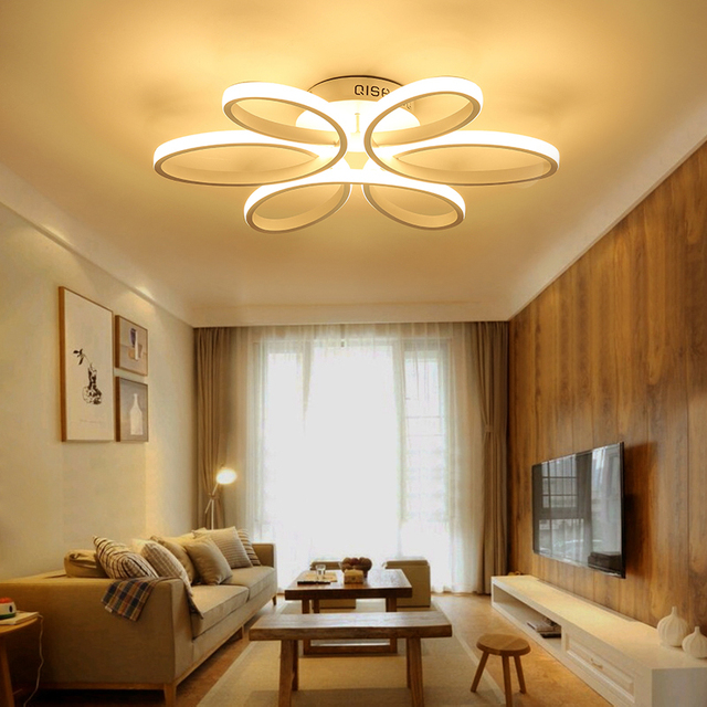Ceiling Lights LED Modern Bedroom Lighting Acrylic Lampshade Living Room  Ceiling Lamp Luces Del Techo Fittings