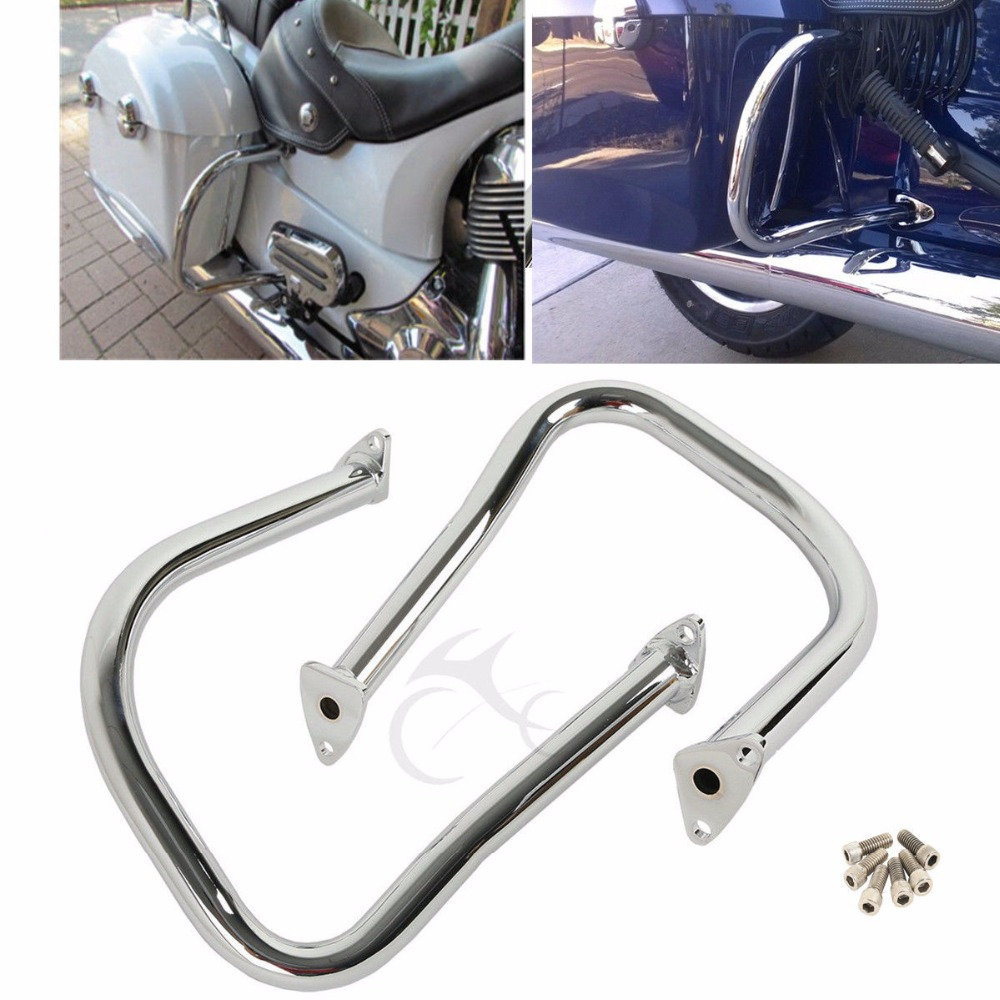 Motorcycle Rear Highway Bars Engine Guard For Indian Chief Classic Vintage 14 18 Dark Horse 16