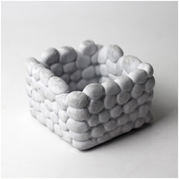 Flowerpot Silicone Mold Design de Paralelepípedos de concreto Cimento Plantador de Bonsai Decoração Ferramentas Moldes Homemade|Moldes de argila| |  -