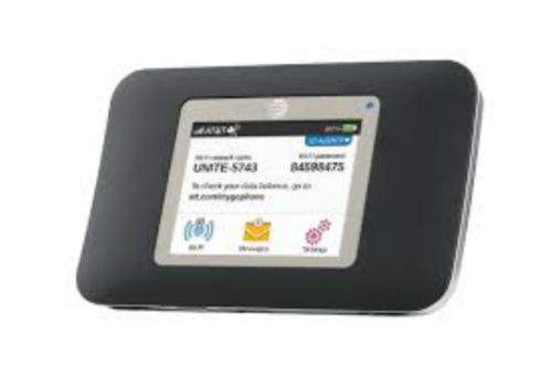 Unlocked AT&T Unite 770S 4G LTE Netgear Wireless Broadband Hotspot Black New dynavox t 30 black