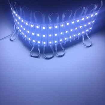1000pcs SMD 4040 LED light module for sign letter IP65 LED module DC12V 3 led 1W 100lm 64mm*9mm*4mm tape or glue installation
