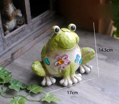 Garden resin old frog garden garden balcony ornament ornaments