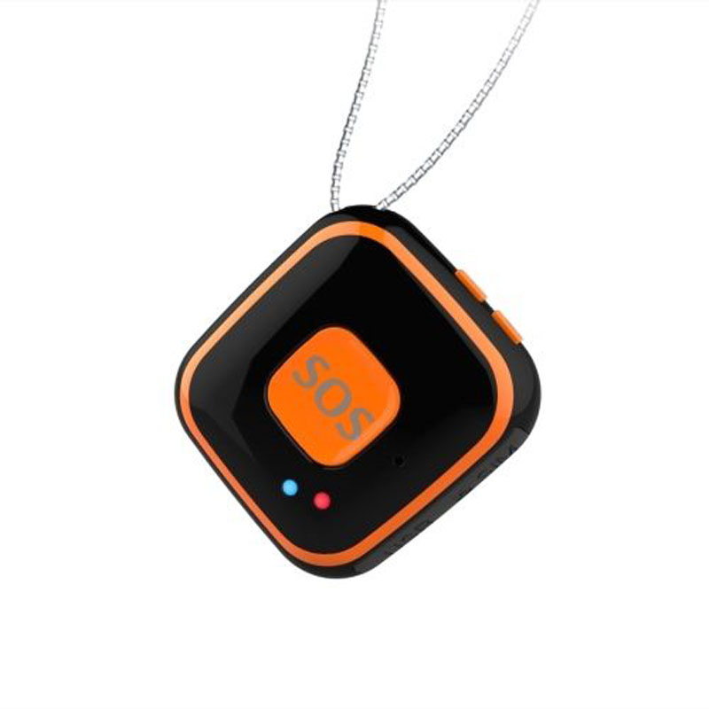 Mini Portable Waterproof GPS for Children Elderly Pets Real time Tracking with SOS Alarm, Two way Voice Fall Alarm and Geo Fence