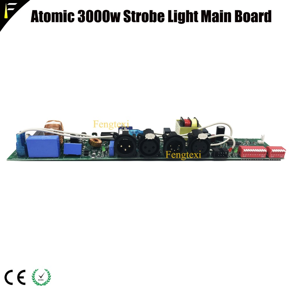 Atomic 3000 Strobe Light Parts Main Board Atomic3000 Strobes Light Mainboard Replacement Mother Program Board For