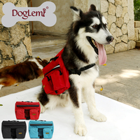 Free Shipping 3pc Per Lot Mixed Colors Pet Dog Bag Medium And Large Big Dogs Outdoor