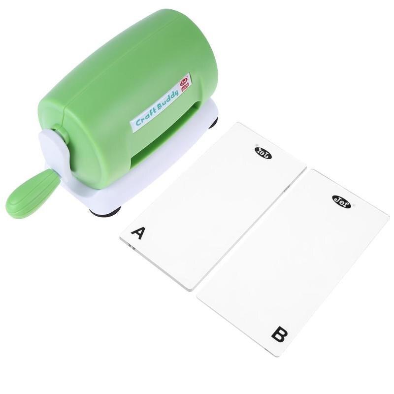 DIY Die Cutting maszyna do wytłaczania na papier do scrapbookingu Cutter Die-maszyna tnąca do cięcia w domu szablony do wytłaczania narzędzia DIY