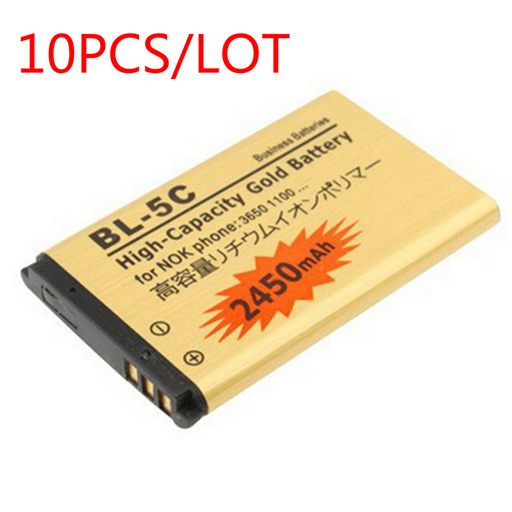 1000 1010 10pcs/lot original abv golden bateria bl5c bl 5c battery for