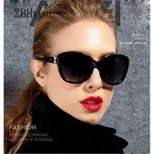 ZBHwish2017-gafas De Sol con flores para mujer, anteojos De Sol femeninos De marca De diseñador, Retro, UV400