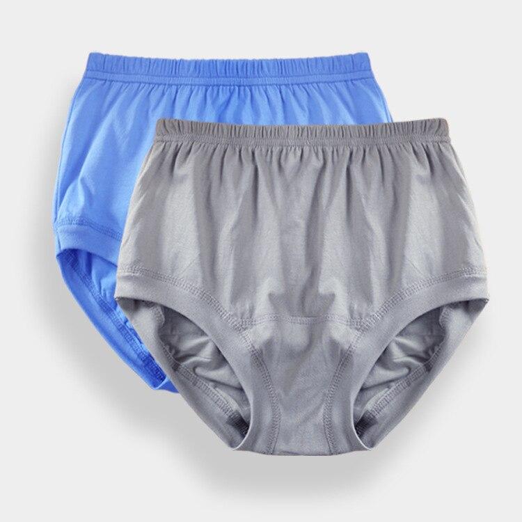Brezplačna dostava starega 100% bombažnega moškega spodnjega perila na debelo hlače z visokim pasom moške ohlapne velike dvoriščne kratke hlače VELIKOST L-4XL # 7076R2