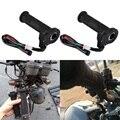 2 unids 22mm ATV Motocicleta Eléctrica Climatizada Moldeado Grips Warmer Manillar