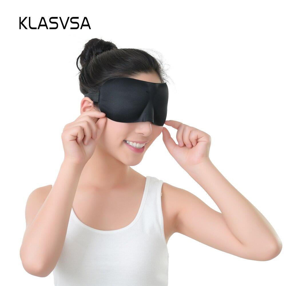 Masker Mata Tidur Perjalanan 3d Warna Penutup Spons Lembut Empuk Untuk 9 Istirahat Santai Perban Pada