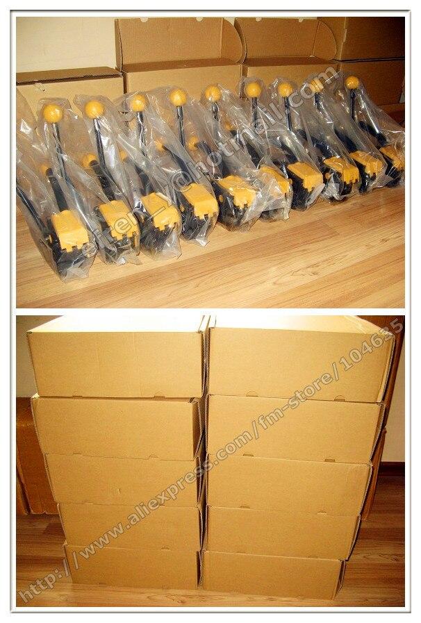 Китай Инструмент Для Обвязки Производителей-Оптовая 100% Новое Руководство A333 Sealless Стали Рук Связывая инструмент для 13-19 мм металлический