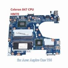 NOKOTION Q1VZC LA-8941P NBSH511001 NB. SH511.001 laptop motherboard Für acer Aspire V5-131 Celeron 847 CPU DDR3