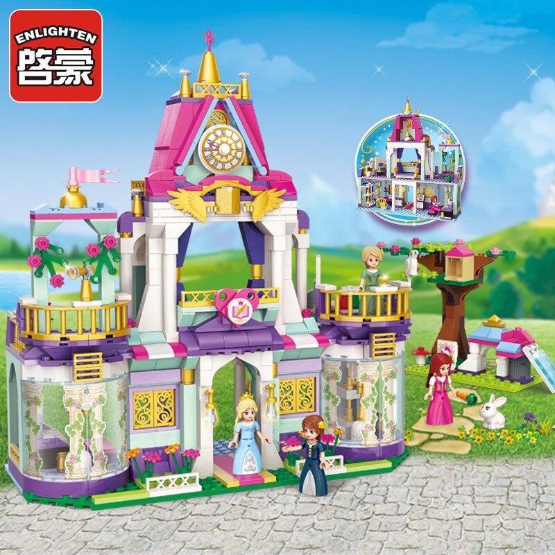 Enlighten Bouwsteen Meisjes Vrienden Prinses Leah Royal Wijsheid School 4 Cijfers 628 Stks Educatief Bricks Speelgoed Voor Meisje-geen Doos Om Tot De Eerste Te Behoren Onder Vergelijkbare Producten
