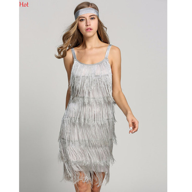 Hot Fashion Sexy Women Dress Tassels Straps Backless Pencil Dresses Glam  Club Prom Party Dress Gatsby Fringe Costume Mini Dress bbd776dc3317