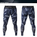 Camouflage Men Compression Pants Base Layer Mid Waist Fitness Leggings Joggers Pants Men Crossfit Trousers Men's sweatpants
