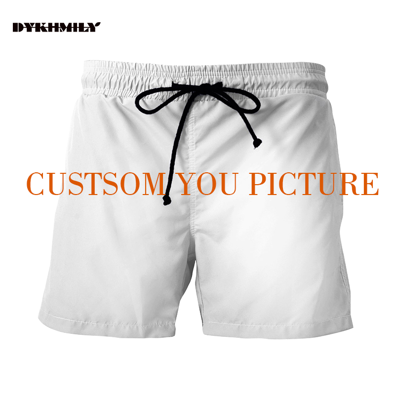 Dykhmily 3d Custom Full Print Shorts Men Beach Sho...