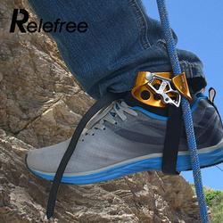 Relefree восхождение правая нога Жумар оборудования устройства инструмент протектор аксессуар