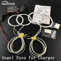 HochiTech Excellent CCFL Angel Eyes Kit Ultra Bright Headlight Illumination For Dodge Charger 2005 2006 2007