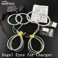 HochiTech Excellent CCFL Angel Eyes Kit Ultra Bright Headlight Illumination For Dodge Charger 2005 2006 2007