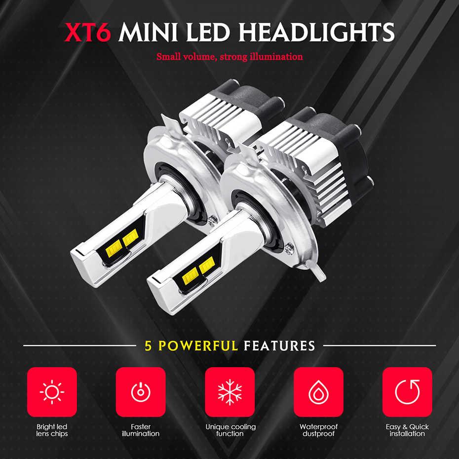 JGAUT H4 White Yellow 3000k 6000k Car Led Light H7 LED Headlight Dual Color H1 H3 H8 H9 H11 9005 HB3 9006 HB4 9012 CSP fog light