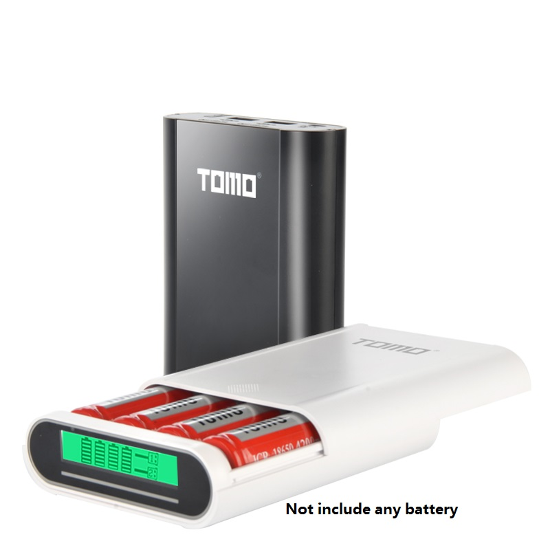5pcs/lot Smart LCD USB Battery Charger Charging for Rechargeable Lithium 18650 Batteries intelligent battery charger  accessory