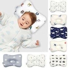 Подушка для защиты головы, подушка для новорожденных, детские подушки с животным принтом, хлопковая детская подушка, позиционер сна, подарок для ребенка, Прямая поставка