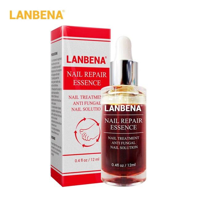LANBENA, suero de esencia para reparación de uñas, tratamiento de uñas por hongos, elimina la onicomicosis, cuidado de manos y pies de las uñas del pie, nutre Brighte