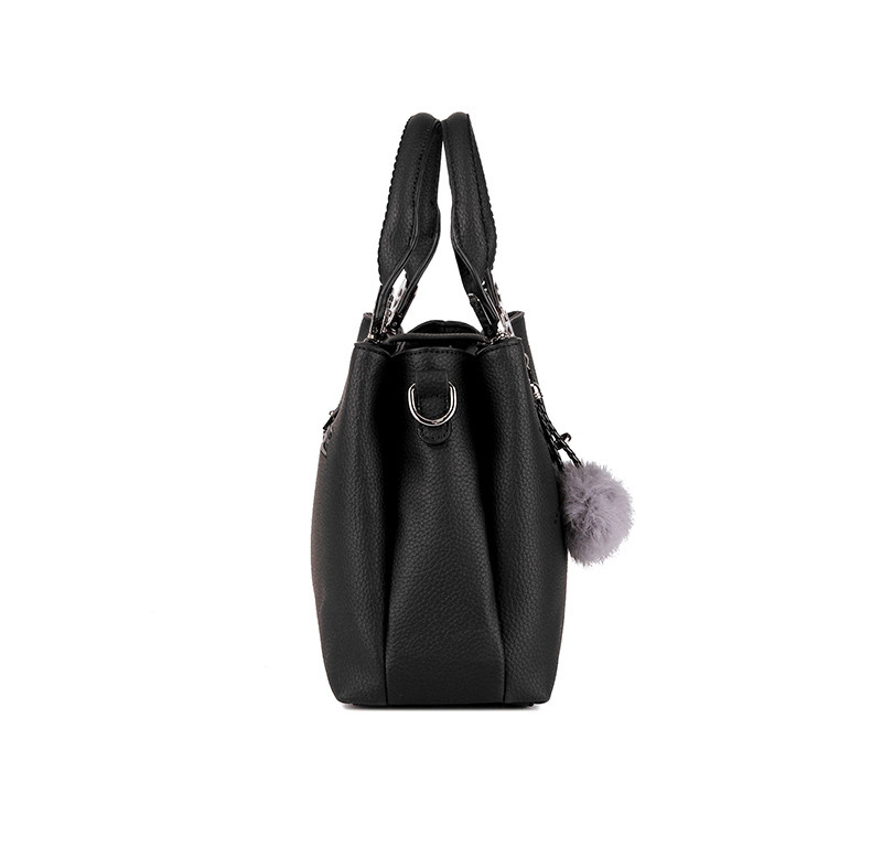 DIZHIGE Brand Fashion Fur Women Bag Handbags Women Famous Designer Women Leather Handbags Luxury Ladies Hand Bags Shoulder Sac 10