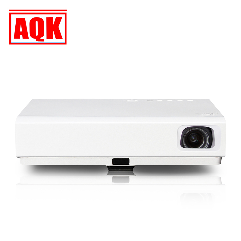MINI Portable DLP Projector Android4.4 WIFI FULL HD 1080P 3D Projector Blutooth LED TV beamer
