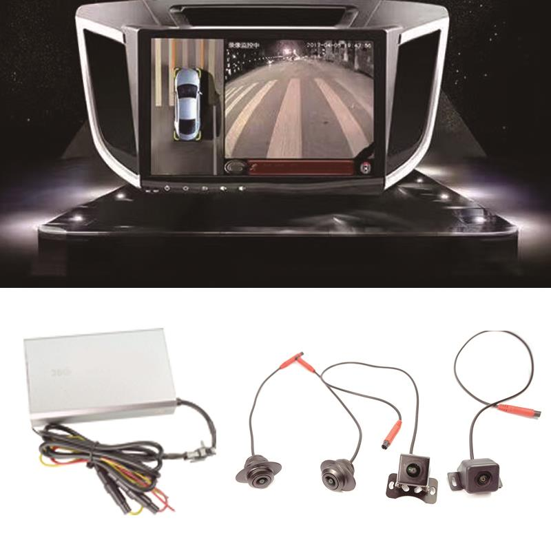 New HD 360 degree panoramic driving Surround View System Bird View Panorama System With G- sensor