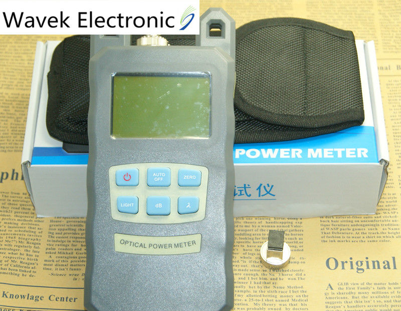 New Fiber Optical Power Meter DXP-20B FTTH Fiber Optic Power Meter Cable Tester Network FC/SC connector -70~+10dBm Free shipping