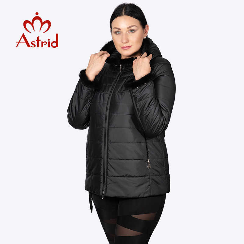 hotsale Winter jacket female coat short hooded plus size warm Cuffs Hairy women jacket mane clothes Ukraine jackets AM-2059