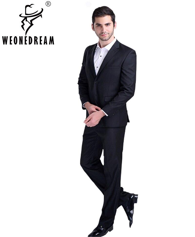 (Куртка + брюки + галстук) костюм мужской тонкий формальный жених мужская  одежда коммерческие костюмы мужские деловые костюмы купить на AliExpress 7a596180c6e