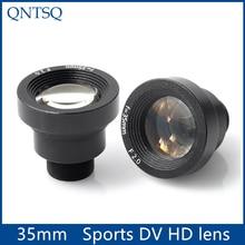 "New Starlight 1/3"" 35mm CCTV IR MTV Lens m12 Mount F2.0 For Security Video Cameras,Sports DV HD lens"