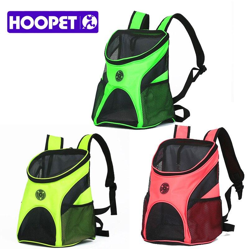 HOOPET Pet Carrier Breathable Durchführung Katze Hund Welpen Comfort Travel Outdoor Schulter Rucksack Tragbare