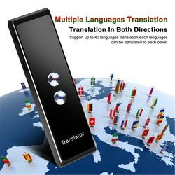 Translaty Enence สมาร์ท Instant Real Time แบบพกพาบลูทูธไร้สายอัจฉริยะ Voice ภาษา Translator 30 ภาษา