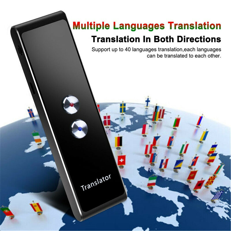 Translaty Enence Smart Instant Real Time Portable Bluetooth Wireles Intelligent Voice Languages Translator 30 Languages