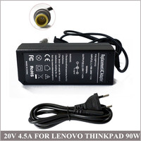 Power Adapter For Laptop 20V 4 5A 90W Cargador AC Power Adapter Charger For IBM Lenovo