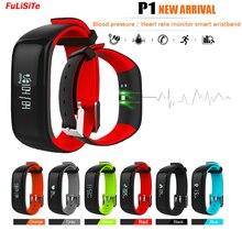 P1 сердечного ритма Приборы для измерения артериального давления Фитнес трекер сна Мониторы cicret браслет вызова напомнить Водонепроницаемый IP67 спортивный браслет