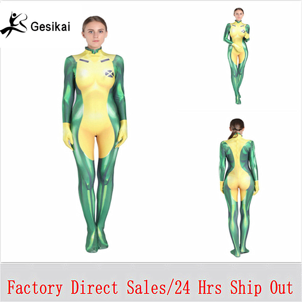 Kids Adults Anna Marie Cosplay Costumes Women Anime The Avengers Annual Bodysuits Jumpsuits Female Halloween Costumes