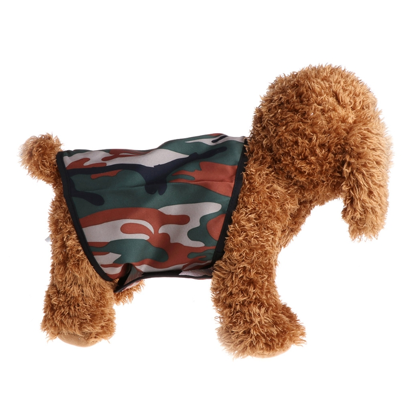 Pet Dog Diaper Male Washalbe Doggie Pants Wraps Underwear Sanitary Shorts Physiological Camouflage
