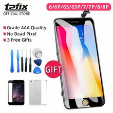 TPFIX For iPhone 6 LCD Screen Grade AAA For iPhone 7 Display 8 8 Plus 6S Plus LCD Touch Screen Digitizer Assembly Replacement 6 e ink lcd screen matrix for nook barnes page 7 page 8