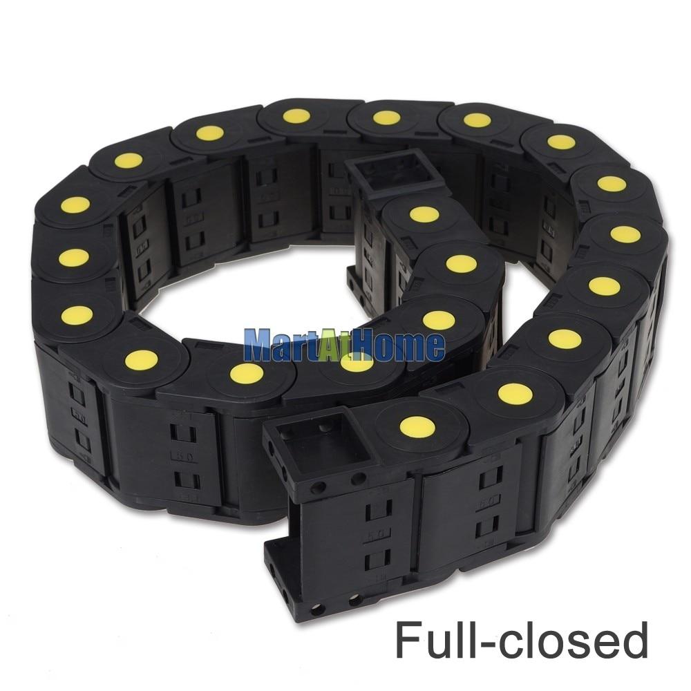 ARGEDO черный Пластик более 1 м Длина 25x38/50/57/77 мм полностью закрытые/мостового типа цепной гибкий кабель-канал для станков с ЧПУ