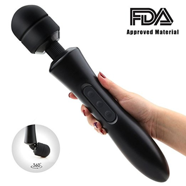 New Powerful oral clit Vibrators for Women USB Charge AV Magic Wand Vibrator Massager Adult Sex Toys for Woman MasturbatorNew Powerful oral clit Vibrators for Women USB Charge AV Magic Wand Vibrator Massager Adult Sex Toys for Woman Masturbator
